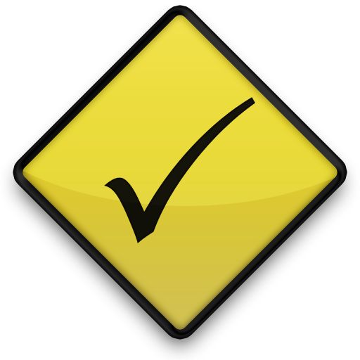 021643-yellow-road-sign-icon-symbols-shapes-check-mark