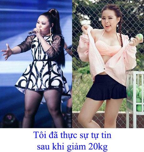 cách giảm cân nhanh nhất tại nhà trong vòng 1 tuần của ca sỹ Thái Bảo Trâm