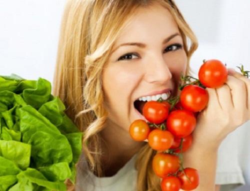 ăn cà chua giảm cân đúng cách