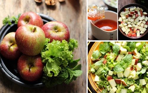 ăn táo giảm cân buổi tối