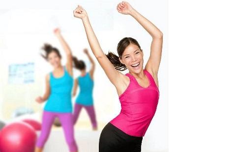 bài tập aerobic lắc hông