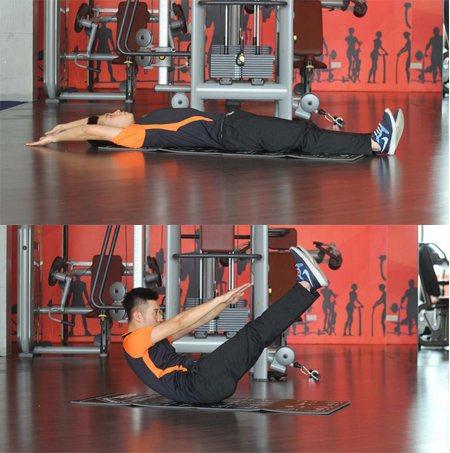 bài tập giảm cân và giảm mỡ bụng 2