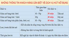 Chi phí giảm mỡ không phẫu thuật tại BVTM Kangnam