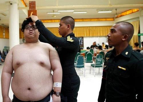 béo phì nghĩa vụ quân sự