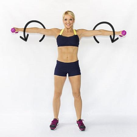 cách giảm mỡ bắp tay 3