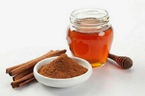 giảm cân bằng mật ong và bột quế