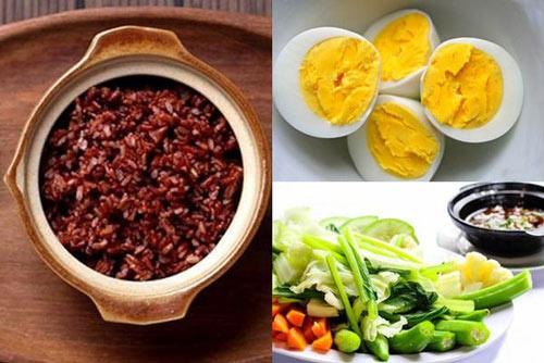 bữa tối nên ăn gì để giảm cân