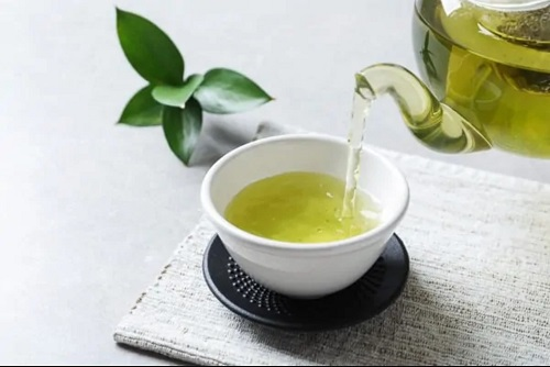 cách giảm cân bằng trà xanh