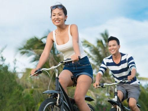 đạp xe giảm cân