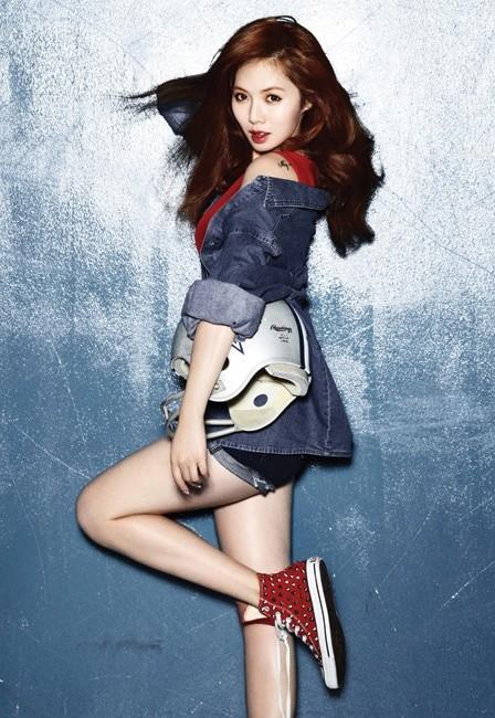 Giảm 20kg với bí quyết giảm cân của HyunA5