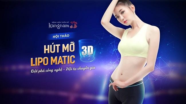 giảm béo với công nghệ lipo matic 3d