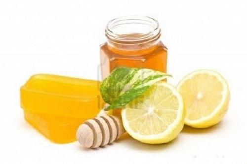 giảm cân bằng chanh mật ong