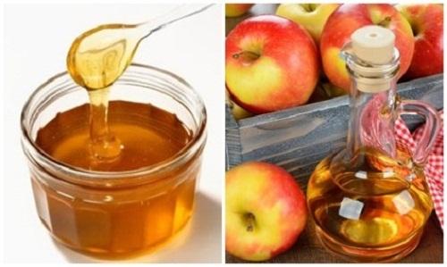 giảm cân bằng mật ong và giấm táo