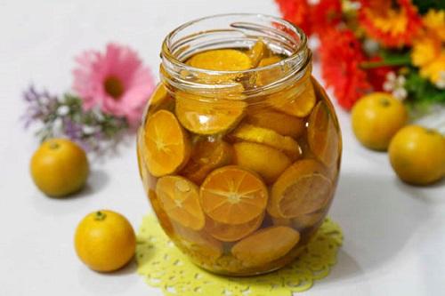 giảm cân bằng mật ong và quất
