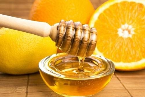 giảm cân bằng nước cam mật ong
