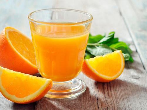 giảm cân bằng nước cam