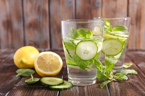 giảm cân bằng nước chanh