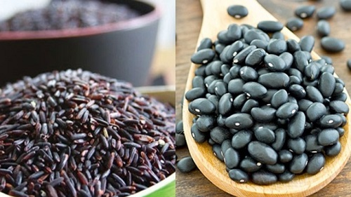 giảm cân bằng nước đậu đen gạo lứt