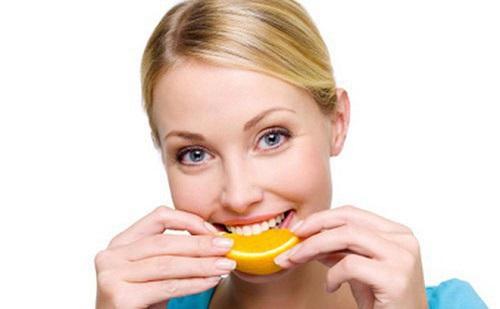 giảm cân với cam