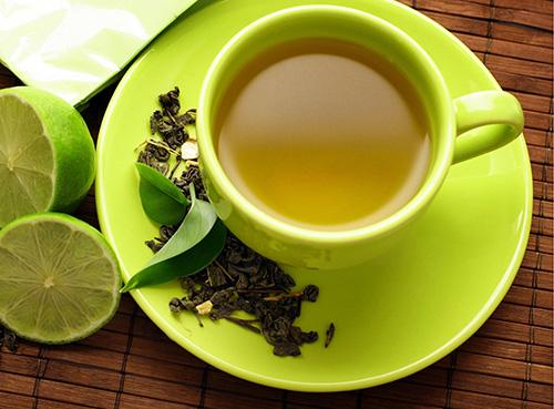 giảm cân bằng trà xanh 1