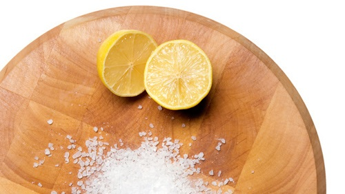 giảm mỡ bụng bằng muối chanh