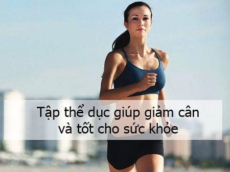 Tập thể dục mỗi buổi sáng giúp bạn tràn đầy năng lượng và giảm cân hiệu quả