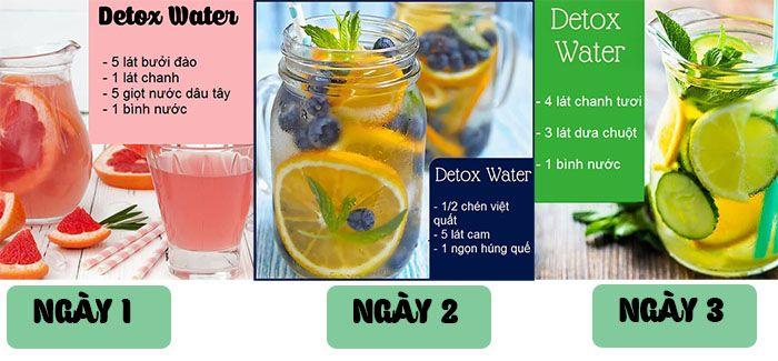 Cách giảm cân nhanh chỉ trong 3 ngày với công thức nước detox thứ 1