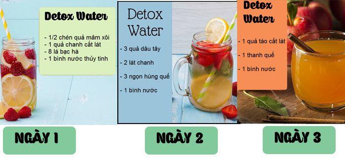 Cách giảm cân nhanh chỉ trong 3 ngày với công thức nước detox thứ 2