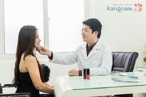 giảm mỡ mặt tại bệnh viện Kangnam