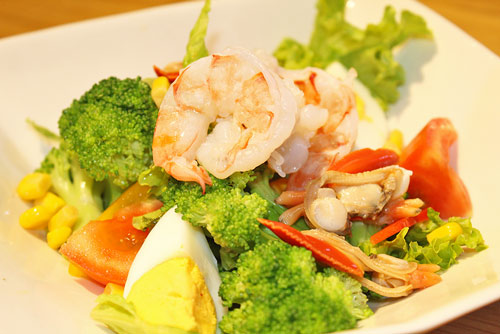 ăn hải sản giảm cân