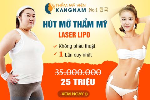 hut mo khong phau thuat laser lipo