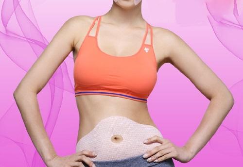 miếng dán giảm mỡ bụng