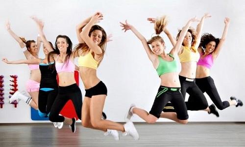 nhảy cao aerobic