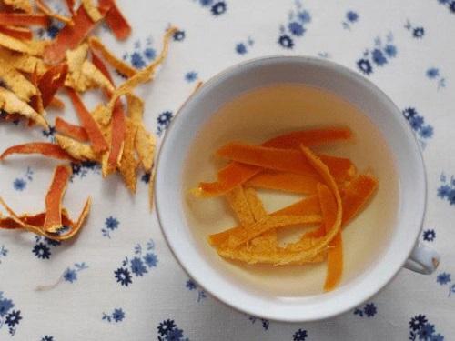 nước vỏ cam giảm cân
