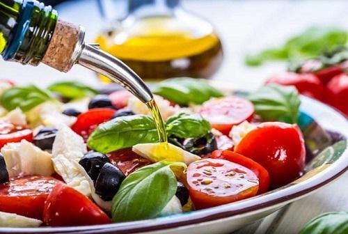 salad dầu dừa giảm cân