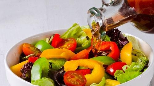 salad giấm táo giảm cân