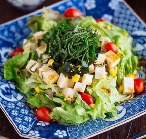 salad tảo biển giảm cân
