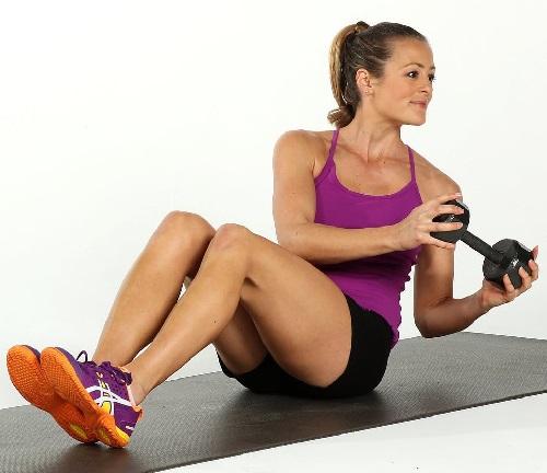 tập thể dục giảm mỡ bụng