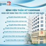 Hướng dẫn quá trình thăm khám tại Bệnh viện thẩm mỹ Kangnam