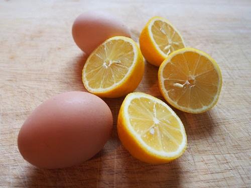 trứng gà và cam giảm cân