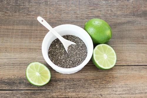 uống hạt chia để giảm cân