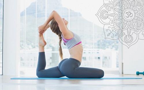 yoga giảm mỡ nách