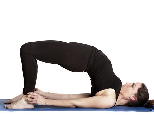 yoga tư thế cây cầu