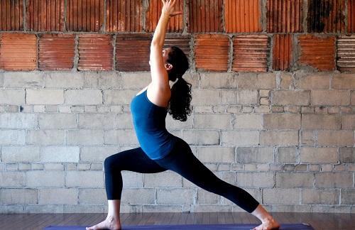 yoga tư thế chiến binh