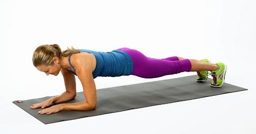 yoga tư thế Plank